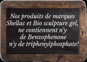 pose vernis shellac biosculpture gelnice